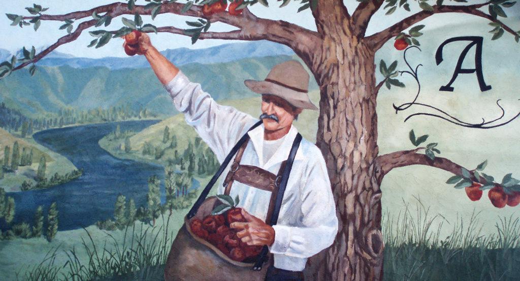 Apple Picker Mural