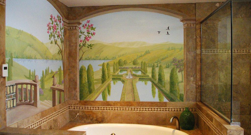 Bath Mural
