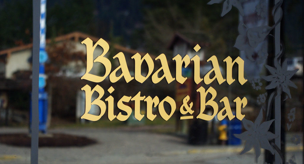 Bavarian Bistro Bar Decal