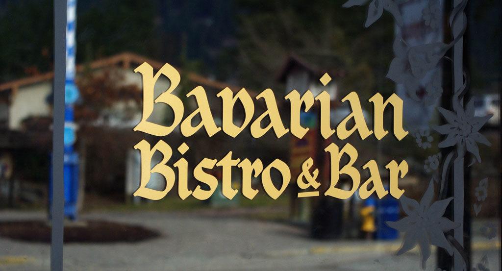 Bavarian Bistro Bar Decal