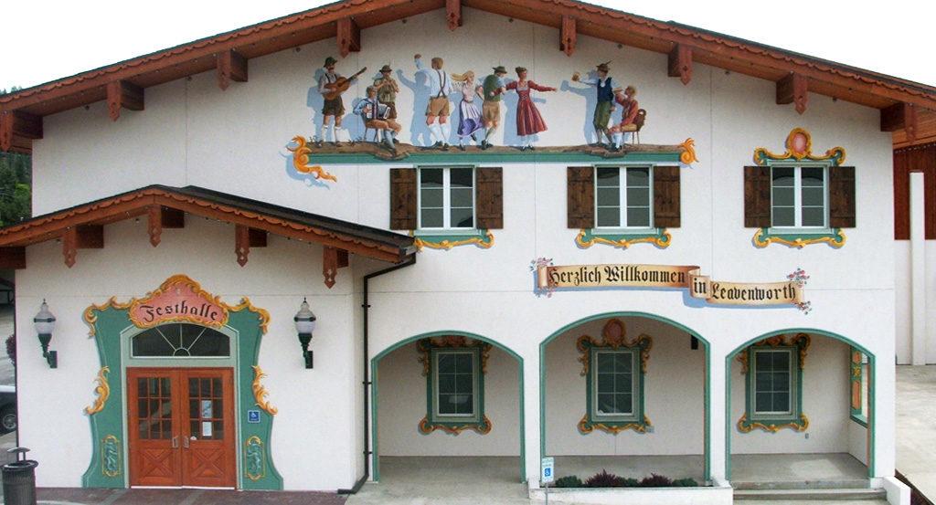 Festhalle Mural