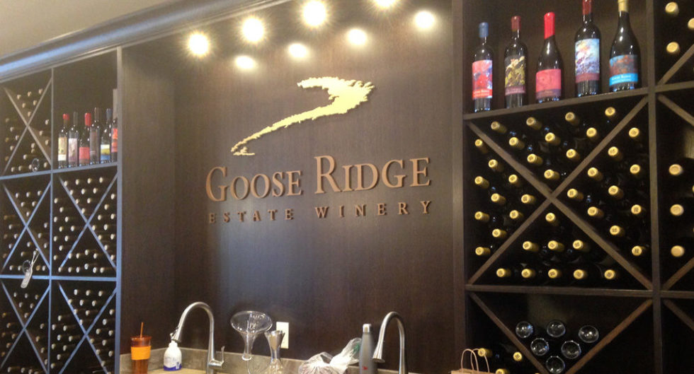 Goose Ridge Sign 1