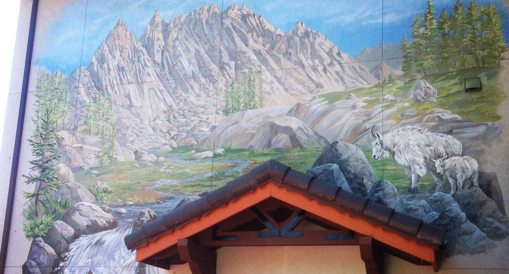 Mtn Goat Mural