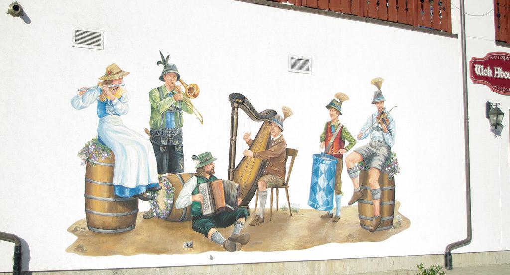 Musicians Mural