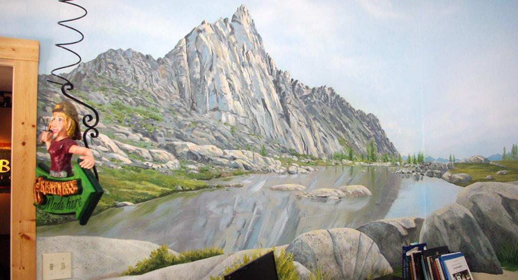 Prusik Peak Mural 1