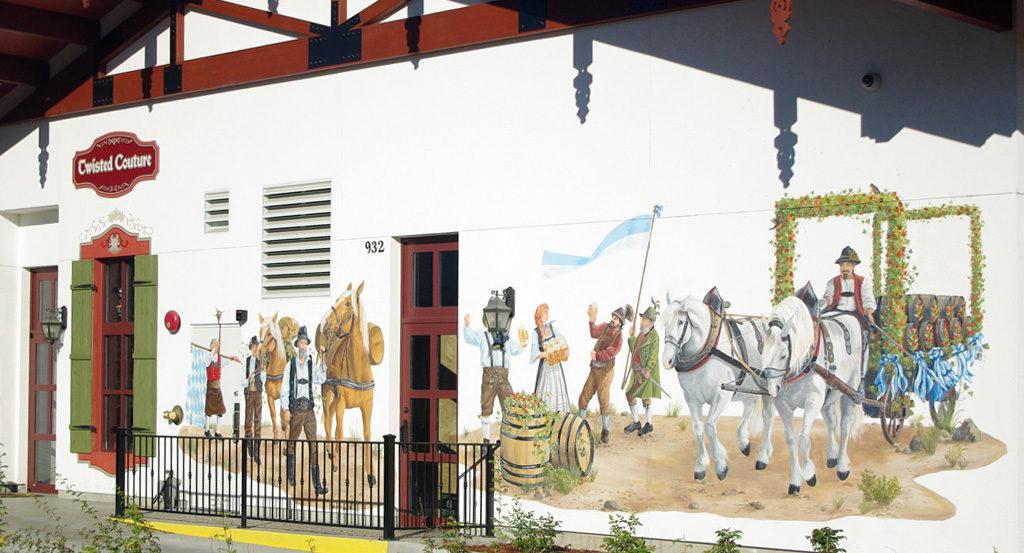 Starbucks Mural