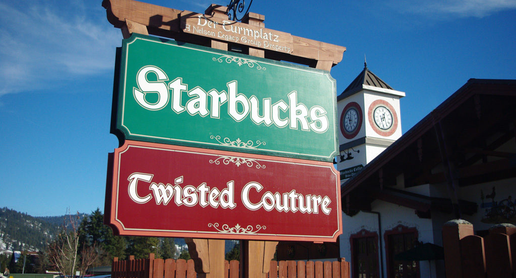 Starbucks Sign