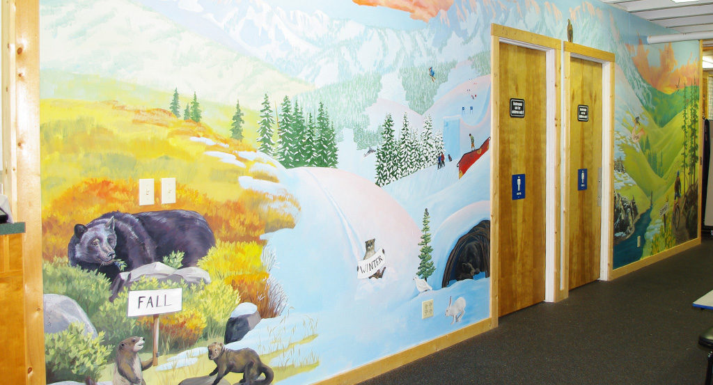 Stevens Pass Mural