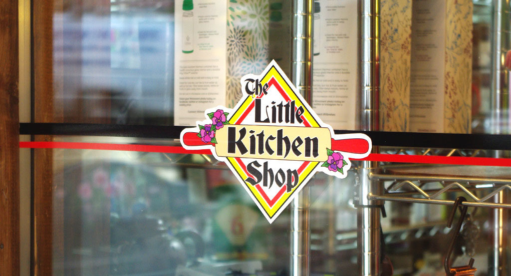 The Little Kitchen Shop Decal