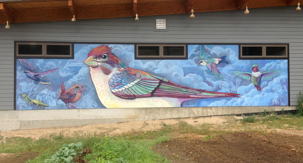Tierra Bird Mural