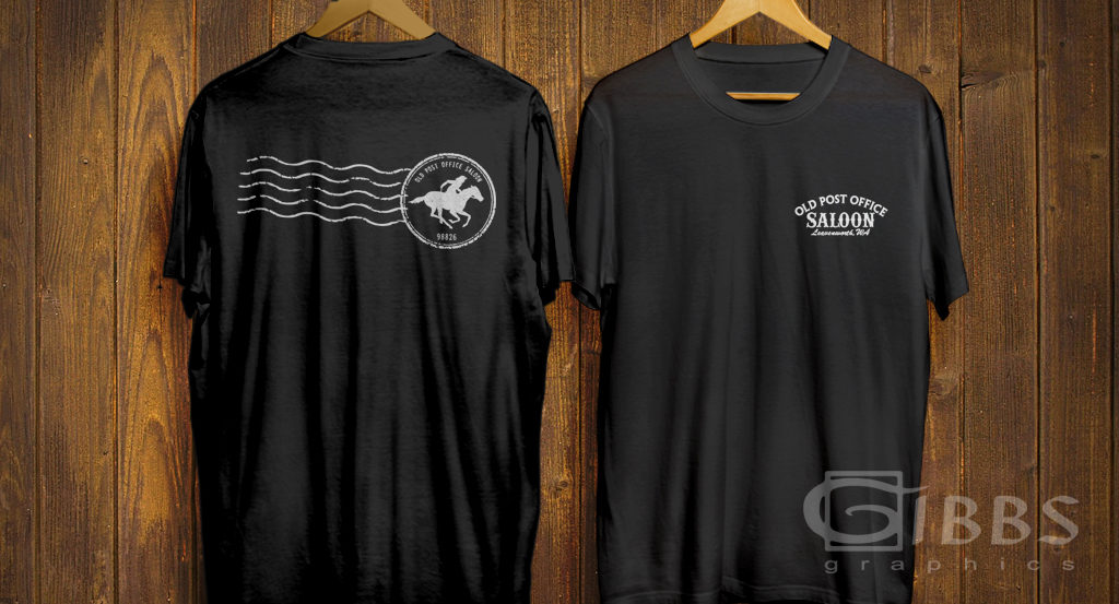 PO Saloon T shirt mockup