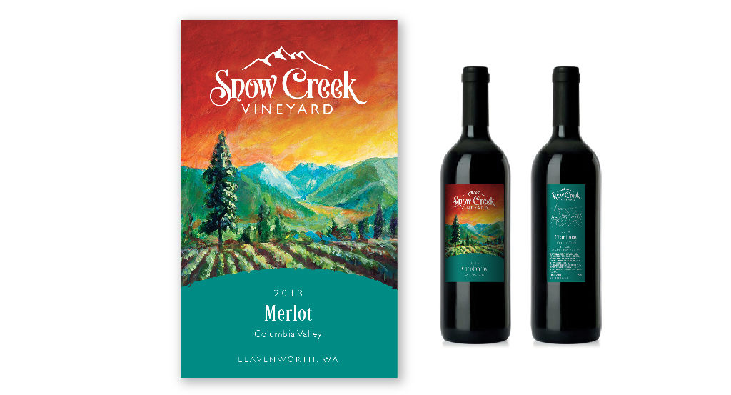 View several wine labels we've created