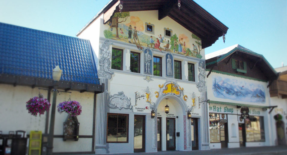 Rieke building mural project