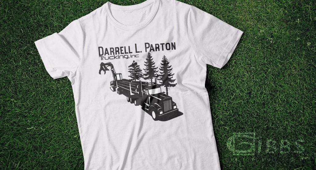 T shirt Partons Trucking