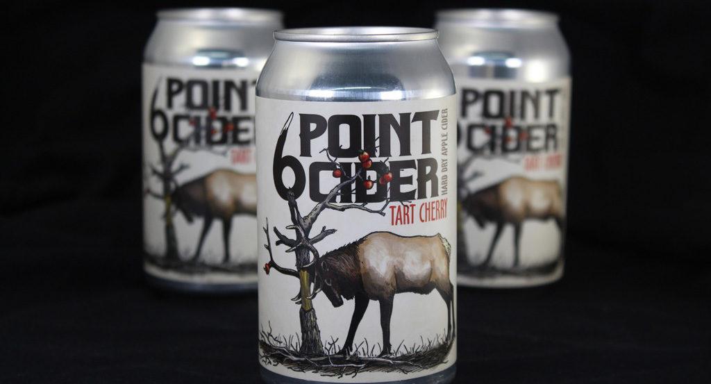 6 Point Cider label